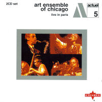 Art Ensemble of Chicago - Live in Paris, album cover