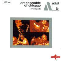 Art Ensemble of Chicago - Live in Paris, album cover