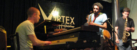Led Bib at the Vortex
