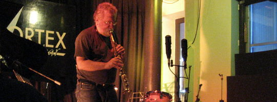 Evan Parker at Earconnector