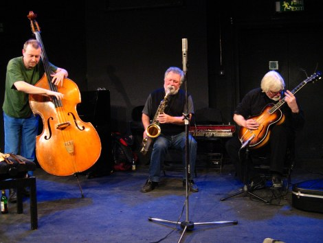 Evan Parker Trio